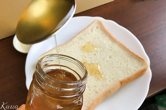 いわたのはちみつと食パン