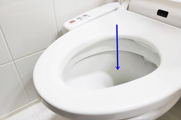 洋式トイレの画像