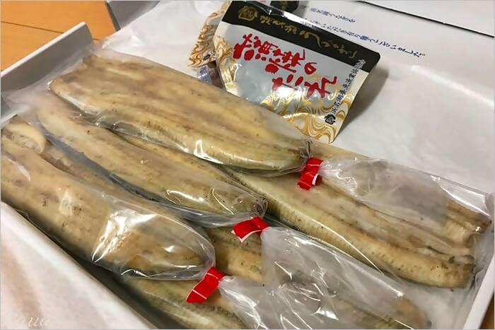 浜名湖養魚漁業協同組合の長白焼き